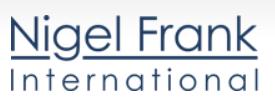 Home based work on Nigel Frank International