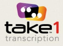 Take1 Transcription - transcription work UK