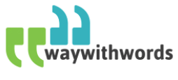 Way With Words - transcription work UK